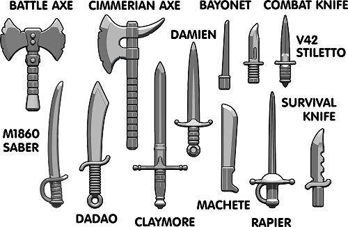 Brickarms Blade Pack