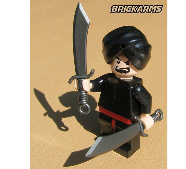 Brickarms Dadao Chinese Sword