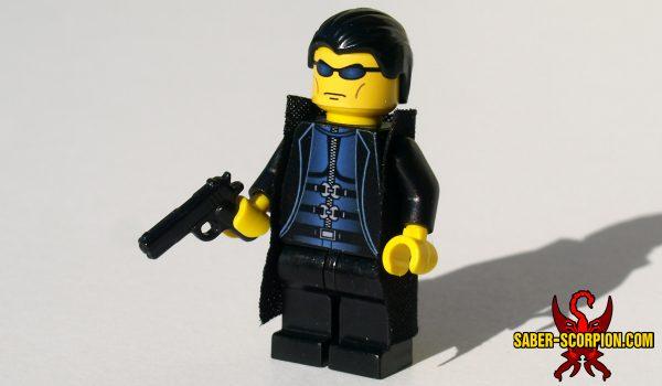 Cyberpunk Agent Classic Custom LEGO Minifigure