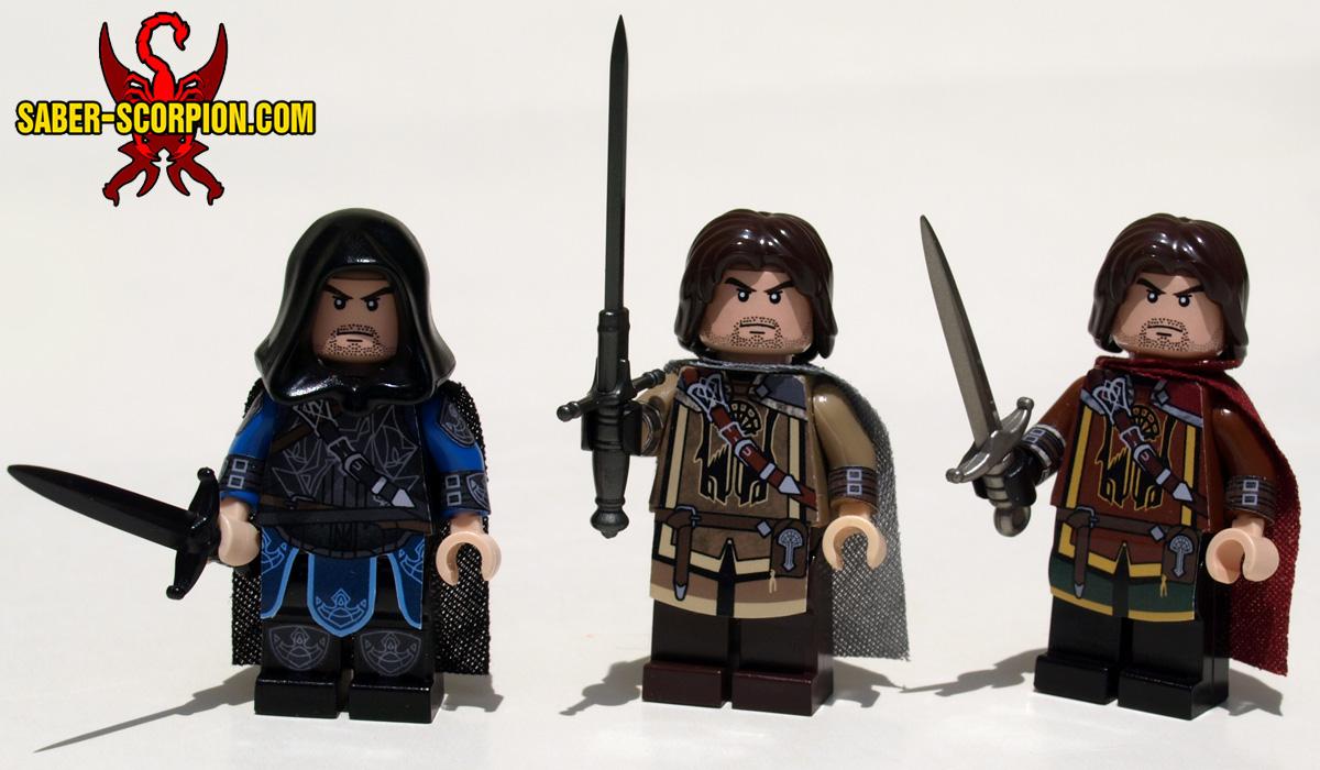 Fantasy Vengeful Ranger LEGO Minifigures