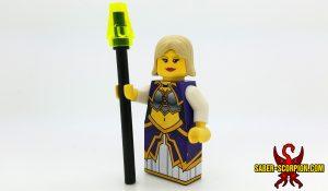 Fantasy Warcaster Human Archmage Custom LEGO Minifigure