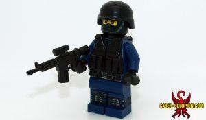 SWAT Trooper Custom LEGO Minifigure