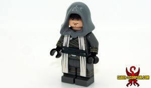 Space Wars Grey Star Knight Custom LEGO Minifigure