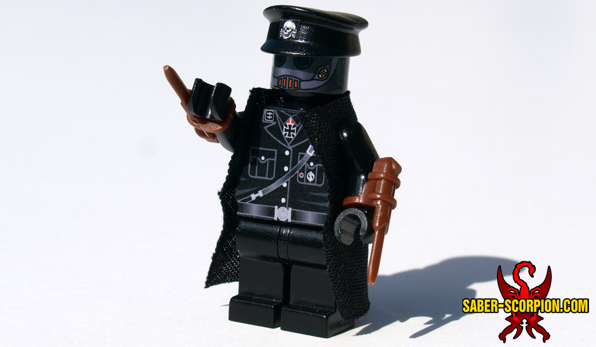 Supervillain Dark Scientist Custom LEGO Minifigure