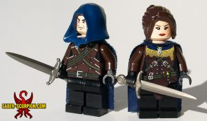Wulfgard Venatori Monster Hunter Custom LEGO Minifigures