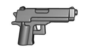 BrickWarriors Combat Pistol