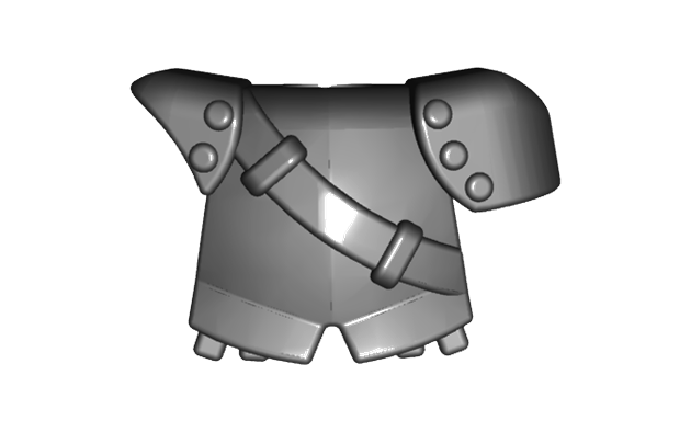 BrickWarriors City Watch Armor