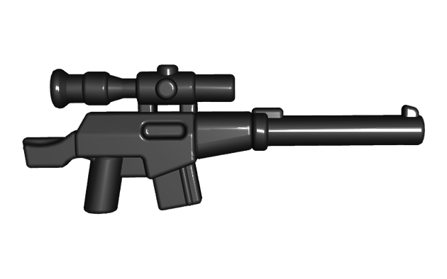BrickWarriors Suppressed Sniper Rifle