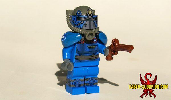 Post-Nuclear Fallout Power Armor Custom LEGO Minifigure