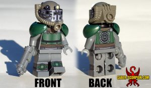 Post-Nuclear Fallout Power Armor Custom LEGO Minifigure