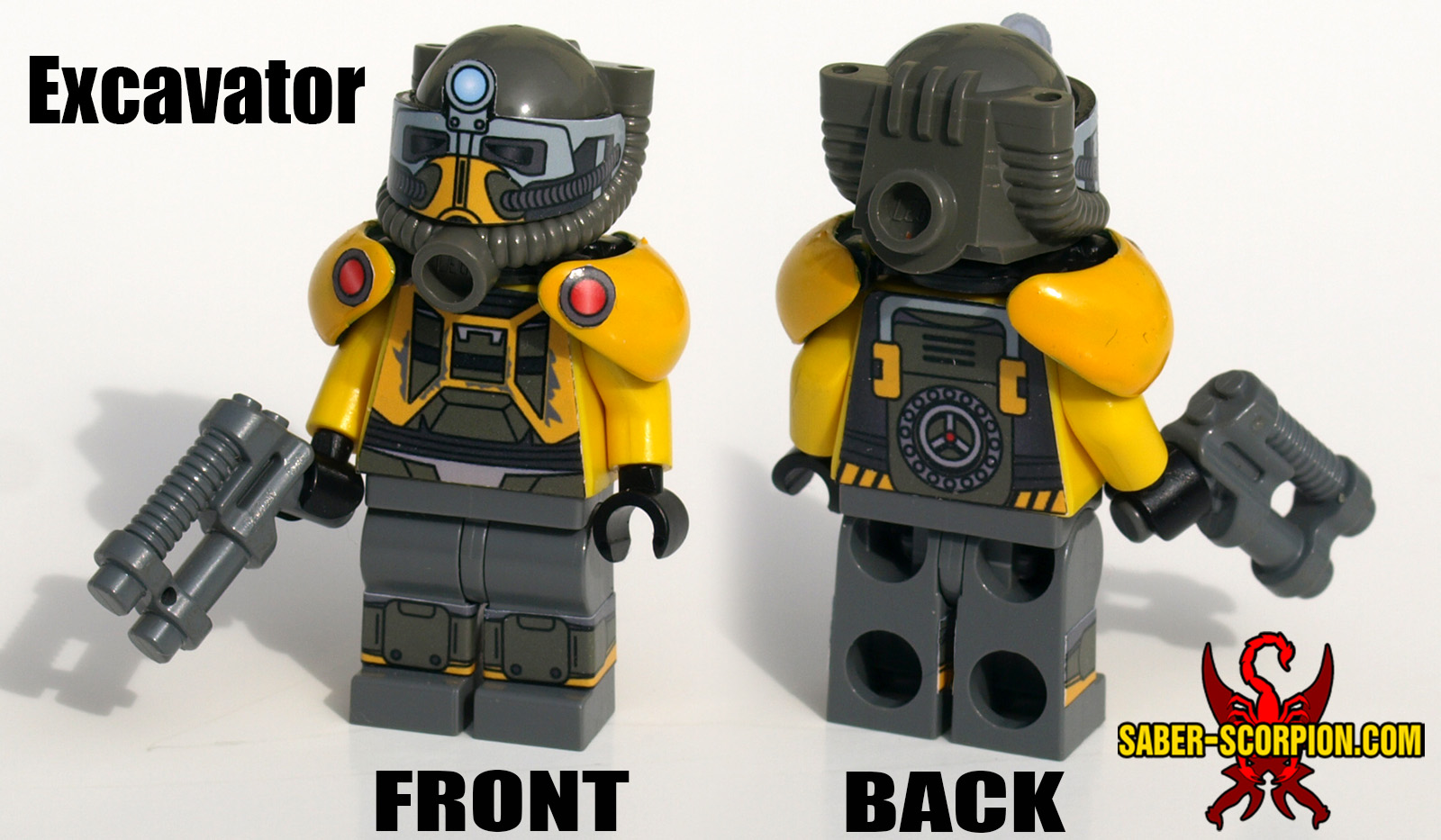 Lego Minifig Camera : Minifig: post apoc power suit new color available! u2013 saber