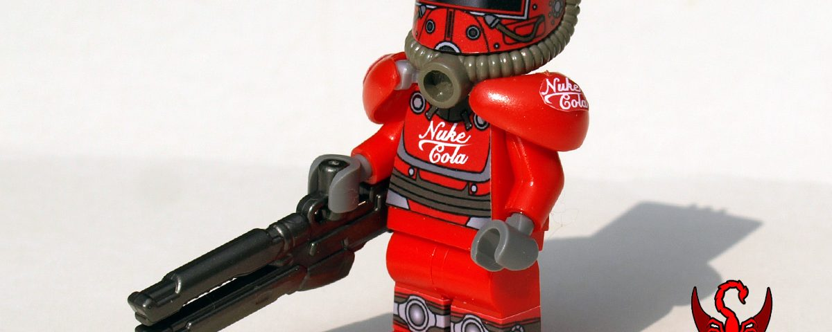 Post-Nuclear Fallout Power Armor: Nuke Cola