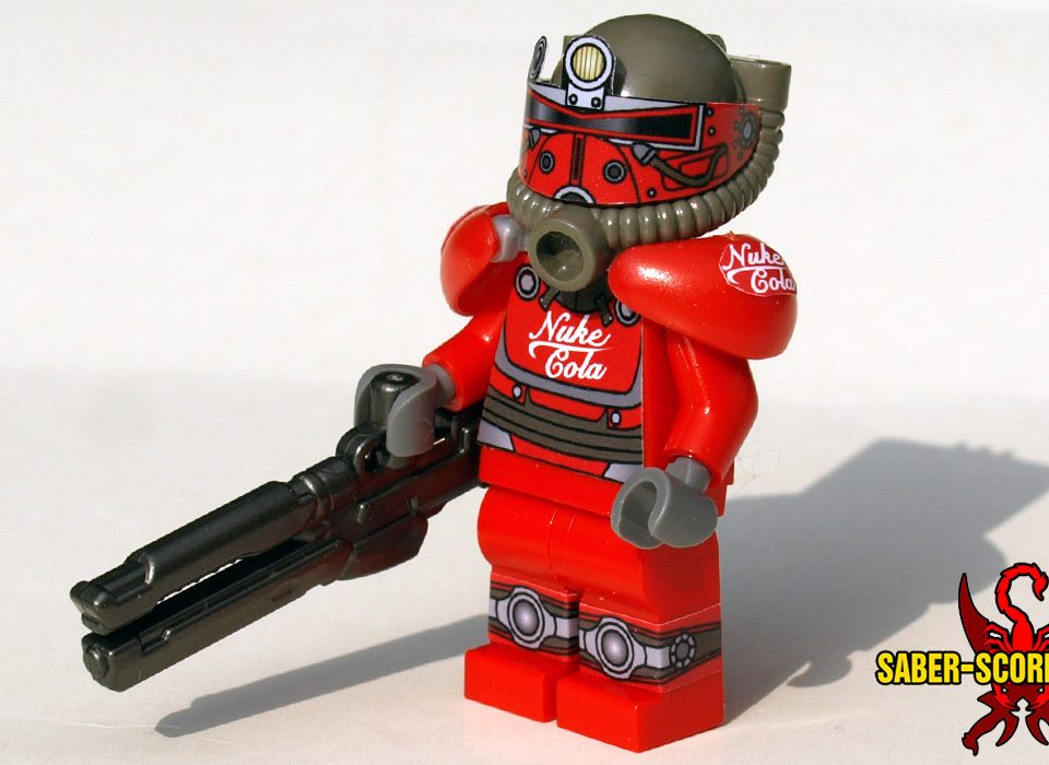 Post-Nuclear Fallout Power Armor: Nuke Cola