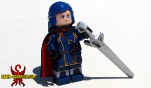 Anime Adventurer Noblewoman Minifigure