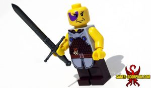 Fantasy Barbarian Ranger LEGO Minifigure