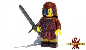 Scottish Highlander Minifigure