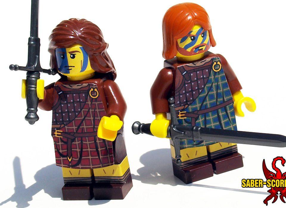 Scottish Highlander Minifigure