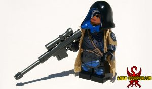 Custom LEGO Minifigure: Watcher Sniper Support