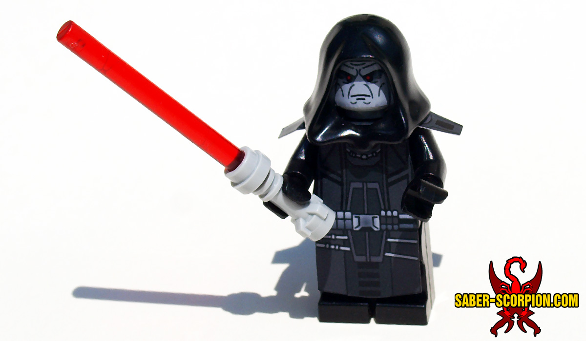 Star Wars Dark Star Emperor Minifigure