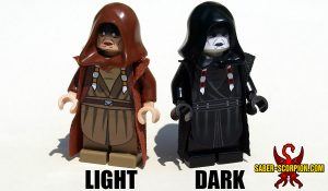 Space Wars Dark Star Matron Minifigure