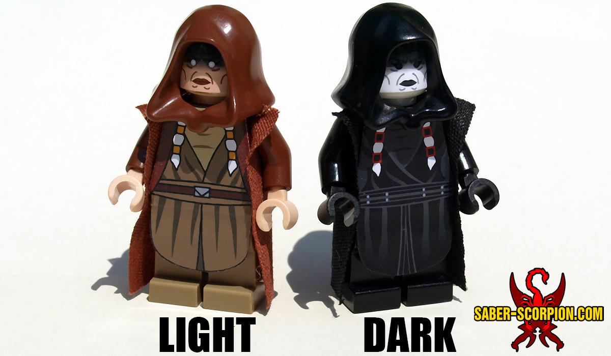 Space Wars Dark Star Matron Minifigure