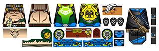 Custom Minifigure Decals: Watchers