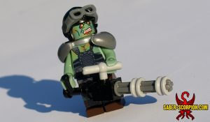 Post-Apocalpytic Fallout Mutant Minifigure