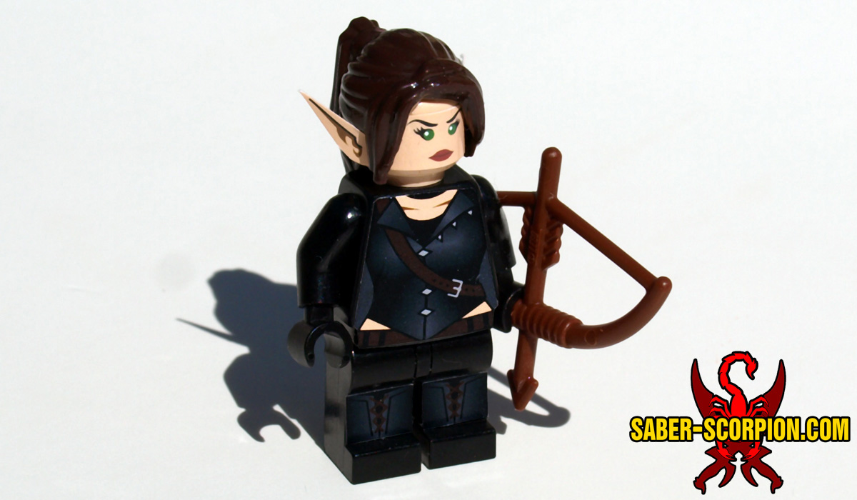 Wulfgard Whisper the Elf Minifigure