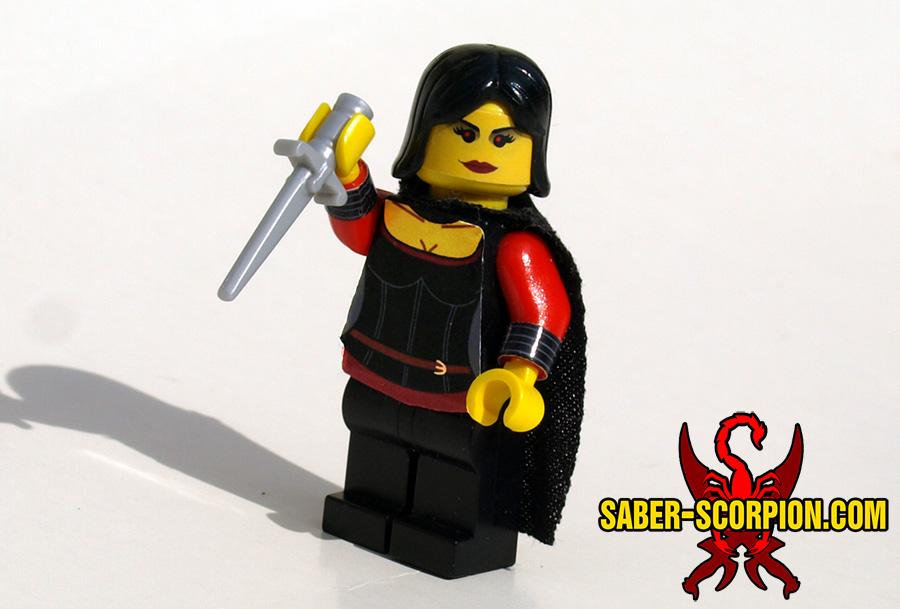 Vampire with BrickForge Dress Dagger