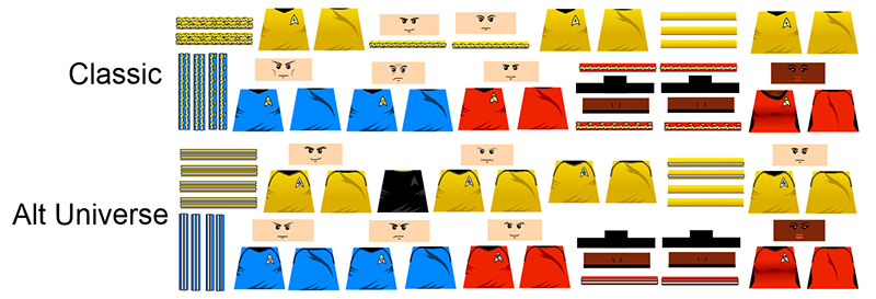 Star Explorers Uniform Decals