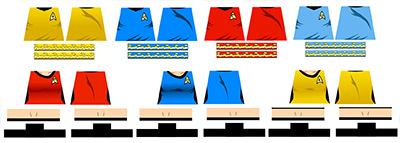 Star Explorers Uniform Decals