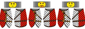 Medieval Padded Gambeson Minifigure Decals