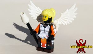Custom LEGO Minifigure Watcher Guardian Angel