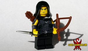 Fantasy Shadow Thief Minifigure, Classic