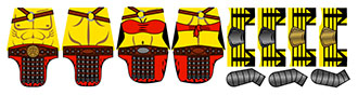 Stickers: Historic Roman Gladiators