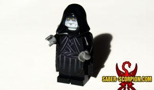 Lego Space Wars Galactic Star Emperor Custom Minifigure