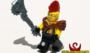 Fallout Raider Custom Minifigure