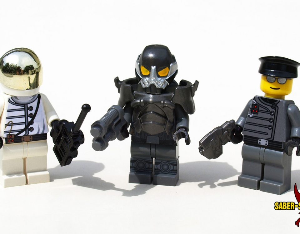 Post-Apoc Government Agents & Advanced Power-Suit