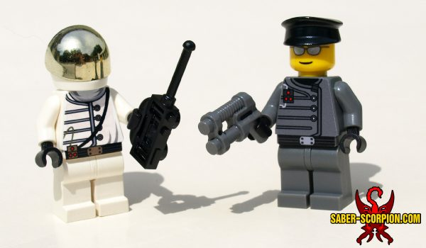Evil Government Agent Minifigures
