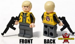 Custom Minifigure: Yellow Jacket Hero