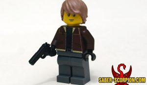 Zombie Attack Custom Minifigure