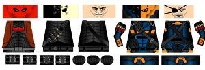 Masked Mercenary Minifigure Decals