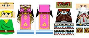 Anime Minifigure Decals
