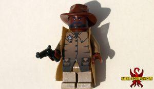 Post-Apocalyptic Western Sheriff Minifigure