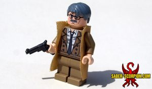 Superhero Police Commissioner Minifigure
