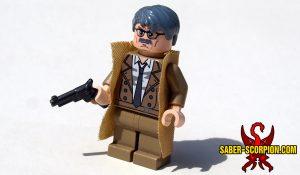 Superhero Police Commissioner Minifigure