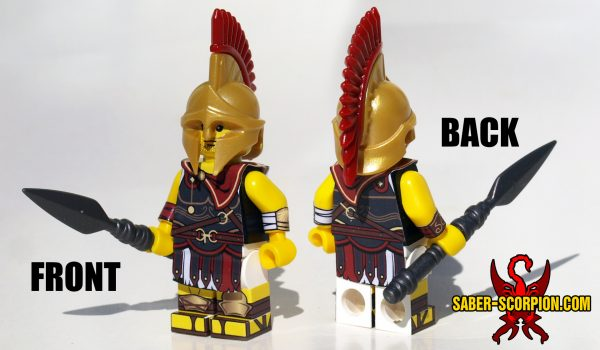 Custom LEGO Minifigure: Historic Spartan Assassin