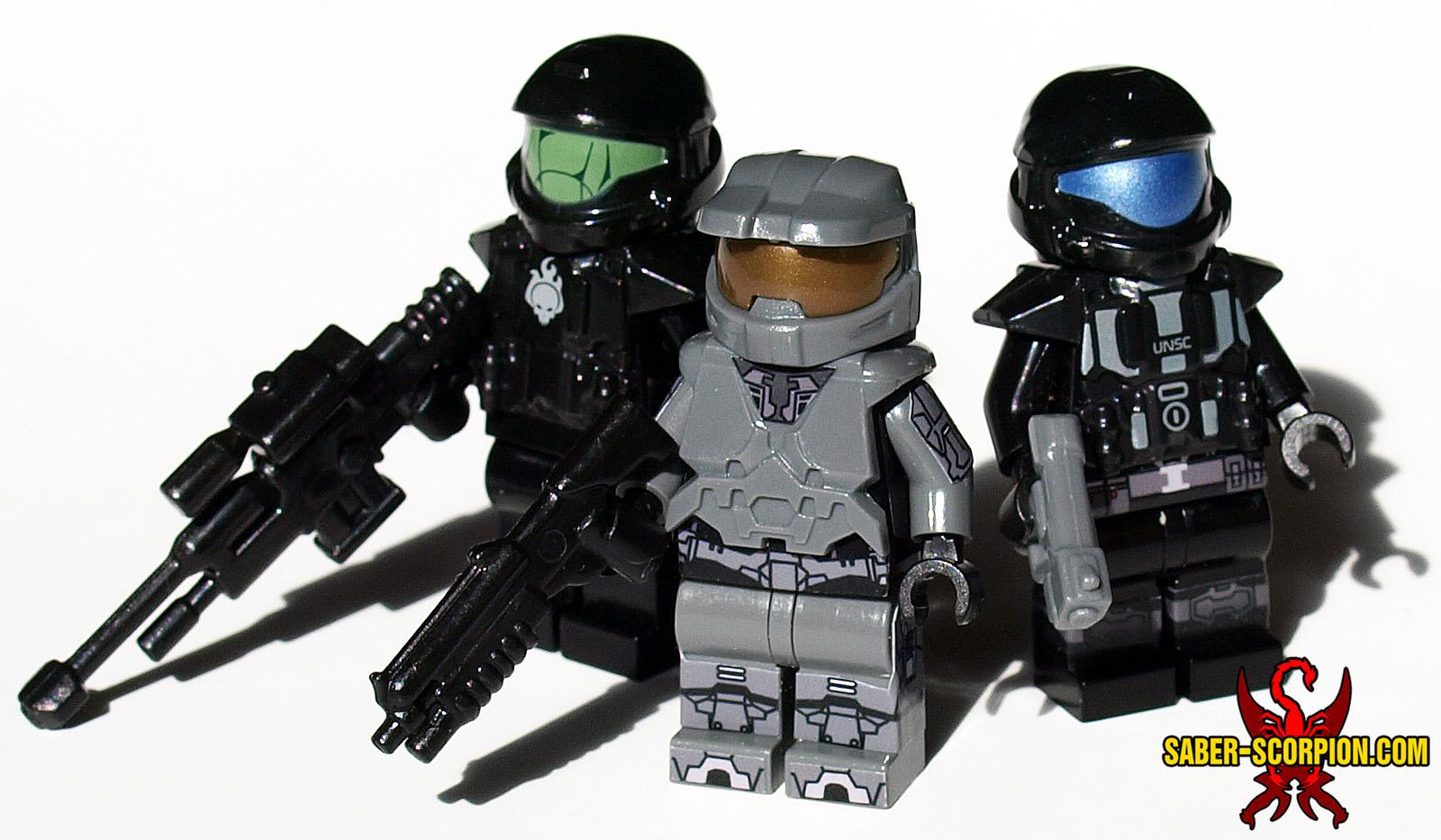Custom LEGO Sci-Fi Minifigures