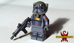 Nuclear Fallout Power Armor Heavy Trooper