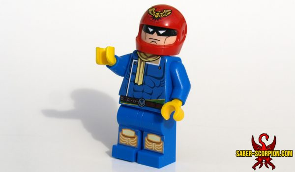 Falcon Captain Punch Custom LEGO Minifigure